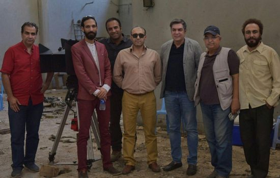 بازدید روسای گلرنگ رسانه از پشت صحنه «هزارپا»
